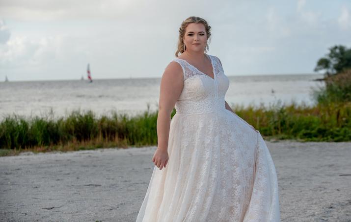 Ben jij een curvy bruid? dan vind je hier de mooiste jurken