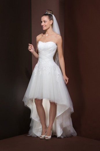 Wonderbaar Korte trouwjurken NY-29