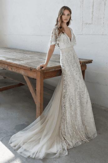 Bedwelming Afbeeldingen bruidsmode #BS06