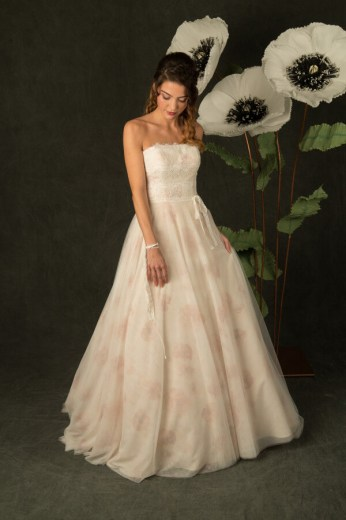 Enjoy, blush, tule bloemenjurk, Bridalstar